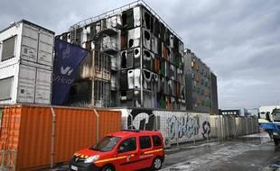 Le data center OVHcloud incendié à Strasbourg le 10 mars 2021.