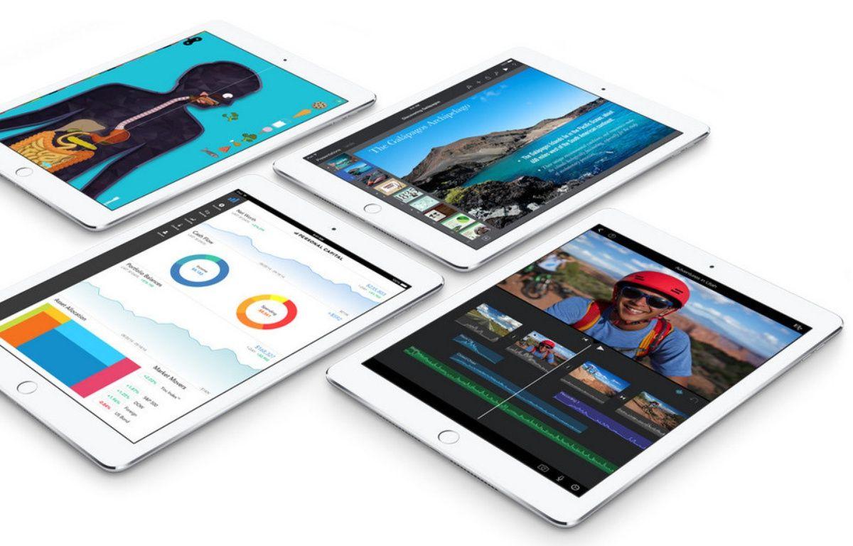 L'iPad Air 2, dévoilé le 16 octobre 2014. – APPLE