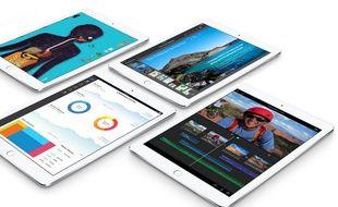 L'iPad Air 2, dévoilé le 16 octobre 2014.