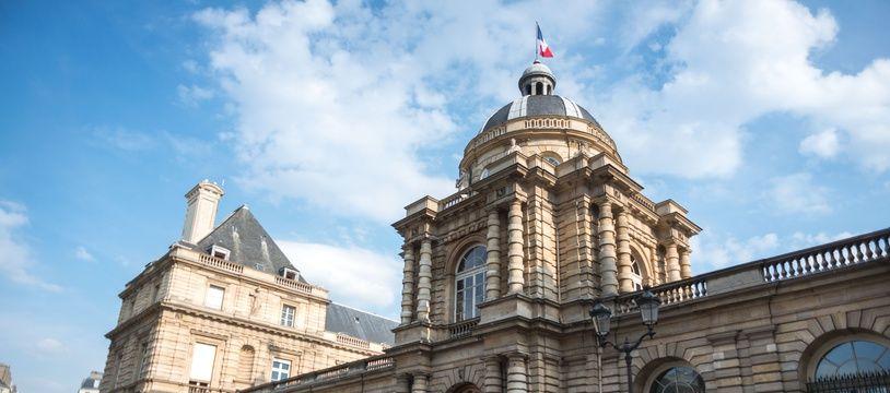 L'entrée du Sénat à Paris, en juillet 2018.