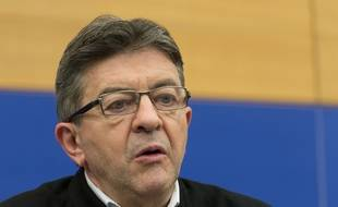 Jean-Luc Mélenchon à Strasbourg, le 7 octobre 2015.