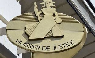 Illustration d'un huissier de justice