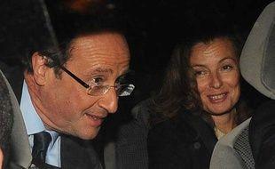 François Hollande et Valérie Treirweiler le 16 octobre 2011, à Paris.