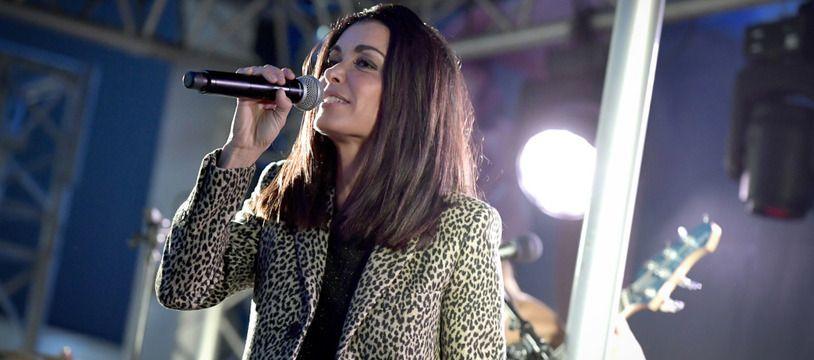 La chanteuse Jenifer