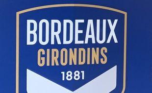 L'actuel logo des Girondins de Bordeaux.