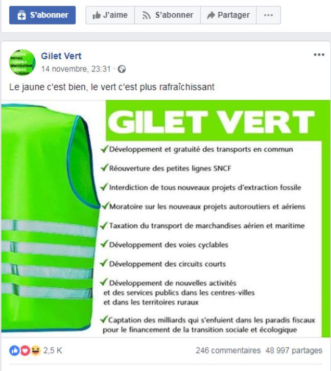 Gilets Jaunes Verts Orange Rouges Comment S Y Retrouver Face A