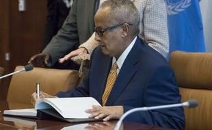 Abdusalam Omer, le ministre somalien des Affaires étrangères