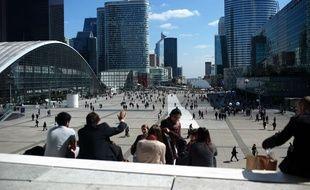 Le quartier de La Défense situé à l'ouest de Paris.