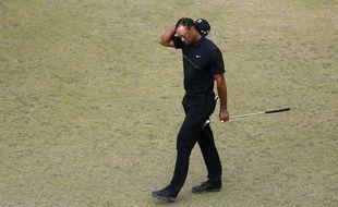 Tiger Woods à l'US Open, le 18 juin 2015