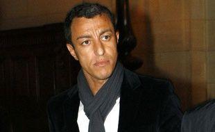 Karim Achoui au Palais de Justice de Paris, le 5 avril 2011.