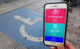Plus de cent personnes ont déjà téléchargé l'application Lpliz, qui vient en aide aux personnes dont le handicap est invisible.