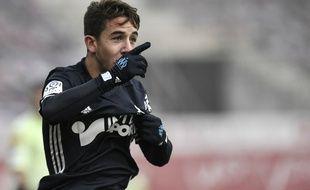Maxime Lopez lors du match Dijon-OM, au cours duquel il a inscrit son premier but en L1, le 10 décembre 2016.