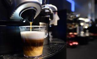 Une machine à café (illustration).