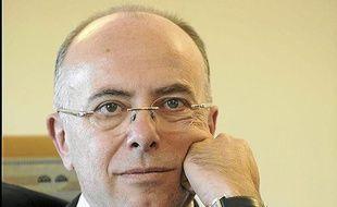 Bernard Cazeneuve, ministre delegue aux Affaires europeennes, dans son bureau au Quai d'Orsay. Paris, FRANCE - 13/09/2012/Credit:JDD/SIPA/1209251724