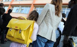 NANTES, le 02/09/2010 Rentree scolaire au groupe scolaire des batignoles