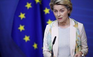 La présidente de la Commission européenne, Ursula von der Leyen.