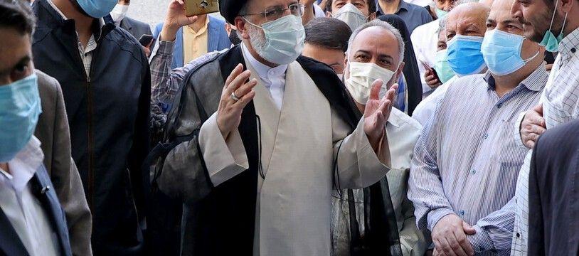 Ebrahim Raïssi, ultra-favori de l'élection présidentielle iranienne.