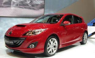 Une Mazda 3 (illustration).