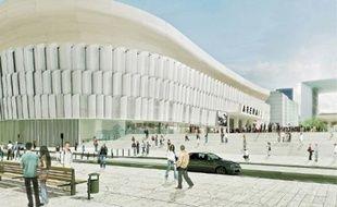 Le projet lauréat veut faire d'Arena92 un stade ouvert sur la ville.