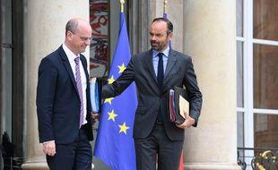 Edouard Philippe et Jean-Michel Blanquer, le 6 juin 2018.