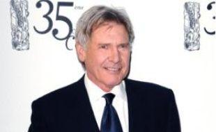 Harrison Fordà la cérémonie des Césars.