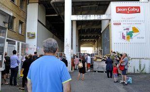 Fermeture de l'usine Jean Caby de Saint-André, près de Lille, le 28 juin 2018.