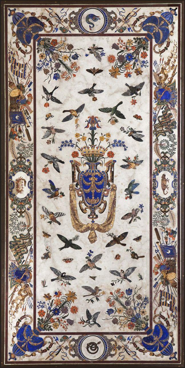 Grande table des Orsini, XVIIesiècle