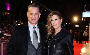 L'acteur Tom Hanks et sa femme, l'actrice Rita Wilson