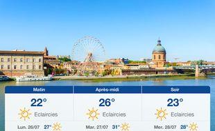 Météo Toulouse: Prévisions du dimanche 25 juillet 2021