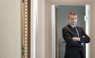 Paris, le 13 avril 2011. Jérôme Sainte-Marie, politologue et sondeur, a fondé l'institut Polling Vox.