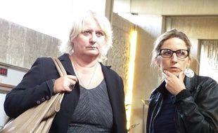 le 23 septembre 2014, Vénissieux. La maire communiste de Vénissieux est présente au tribunal administratif de Lyon, où doivent êtrre examinées deux requêtes visant à faire annuler partiellement ou totalement l'élection municipale de mars 2014.