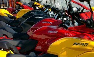 Le constructeur automobile allemand haut de gamme Audi, filiale de Volkswagen, a annoncé mercredi le rachat du fabricant italien de motos Ducati