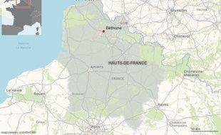 La ville de Béthune, dans le Pas-de-Calais.