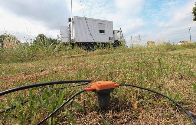 Après les campagnes de mesures géophysiques (comme ici à Hoenheim), de nouveaux projets d'utilisation industrielle de la géothermie vont être lancés en Alsace.