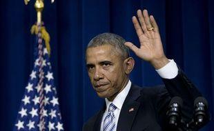 Barack Obama à Washington DC le 19 février 2015.