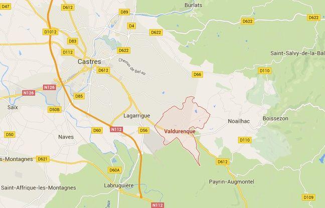La commune de Valdurenque, dans le Tarn.