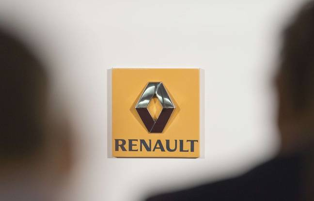 Illustration: le logo de la marque Renault.