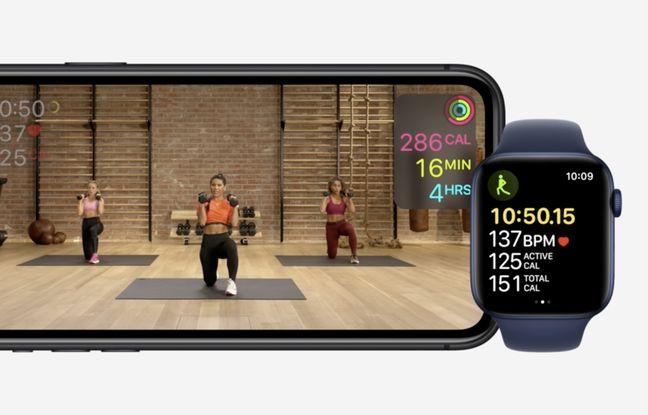 Apple Fitness+, le service de workout lancé avec l'Apple Watch Series 6.