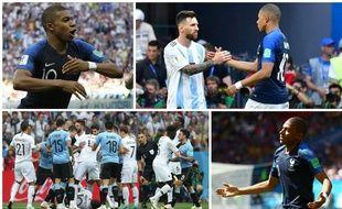 La Coupe du monde de Kylian Mbappé en quatre photos.