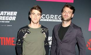 Les DJs Alex Pall et Andrew Taggart du groupe Chainsmokers