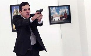 Mevlüt Mert Altintaş a assassiné l'ambassadeur russe en Turquie, le 19 décembre 2016.