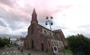 L'église Saint-Louis de La Robertsau à Strasbourg