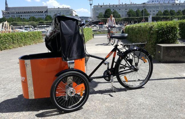 Le nouveau vélo cargo «Mon Bicloo».