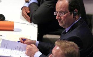 Francois Hollande le 24 mars 2014 à La Haye
