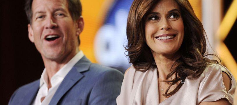 James Denton et Teri Hatcher en 2012.