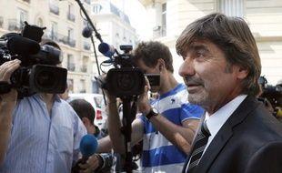 L'ancien numéro 2 de la PJ lyonnaise, Michel Neyret, le 4 septembre 2012 à Paris.