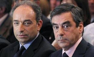 Jean-François Copé et François Fillon, le 26 mai 2012, à Paris.