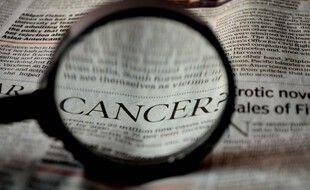 Illustration d'un article sur le cancer.