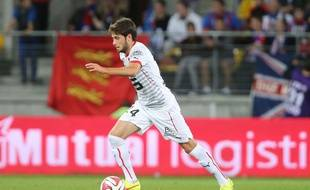 Sanjin Prcić dispute sa première saison sous le maillot du Stade Rennais.