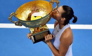 Caroline Garcia a remporté le tournoi de Pékin, accédant ainsi au top 10 mondial pour la première fois de sa carrière, le 8 octobre 2017.